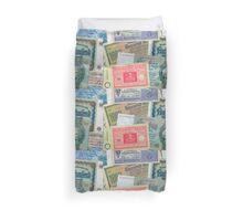 Historical banknotes Duvet Cover
