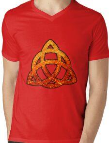 Celtic Triquetra Mens V-Neck T-Shirt
