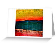 Desert 1; Heat Wave Greeting Card