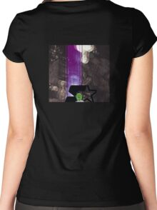 Dad, Don't Go Lite Women's Fitted Scoop T-Shirt