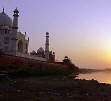 The Taj Mahal from its 'ugly' side by John Mitchell