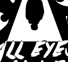 All eyes on me Sticker