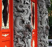 Dragon Doors by phil decocco