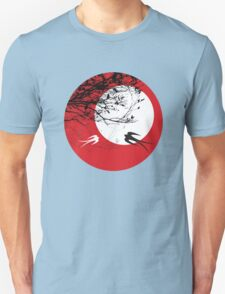 Oriental Swallows In Moonlight  T-Shirt