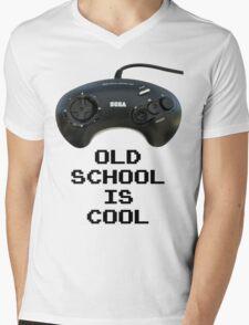 Old School Is Cool - Mega Drive Mens V-Neck T-Shirt