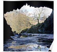 Rydal Cave Poster