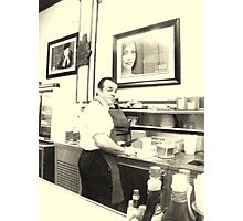 The Bombonera: A Puerto Rican Restaurant Photographic Print
