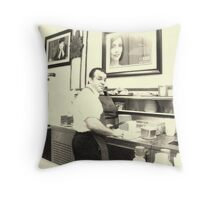 The Bombonera: A Puerto Rican Restaurant Throw Pillow