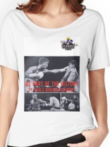 St. Paul's boxing academy history  Women's Relaxed Fit T-Shirt