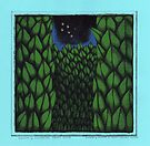 Hedge Maze at Night by Donna Huntriss