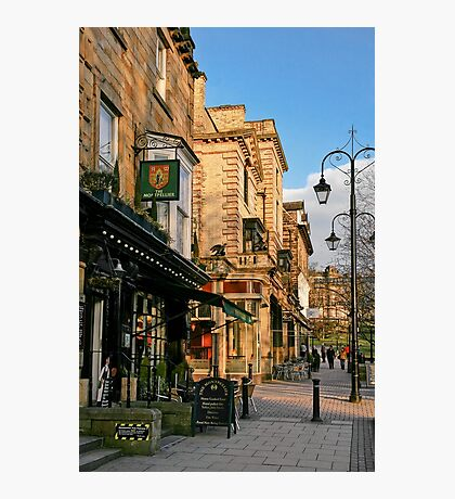 Late Afternoon in Montpellier Parade, Harrogate Photographic Print