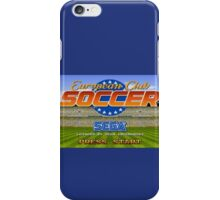 European Club Soccer - Mega Drive iPhone Case/Skin