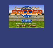 European Club Soccer - Mega Drive Unisex T-Shirt