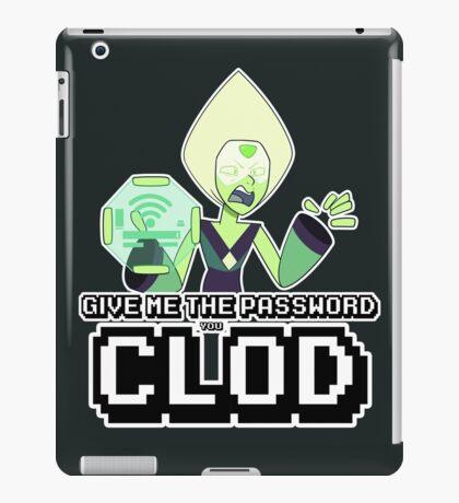 Peridot Wifi Password iPad Case/Skin