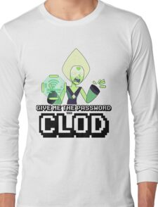 Peridot Wifi Password Long Sleeve T-Shirt
