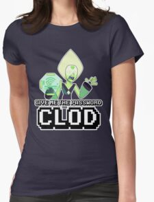 Peridot Wifi Password Womens Fitted T-Shirt