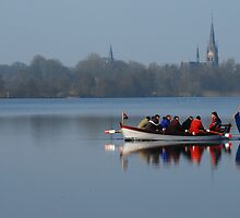 Rowing for Holland on the Mirror Lake by jchanders