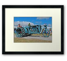 Sieve-Grip Tractor Framed Print