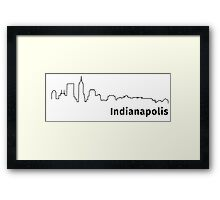 Indianapolis Framed Print