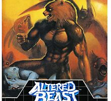 Altered Beast - Retro Mega Drive T-shirt by iHux