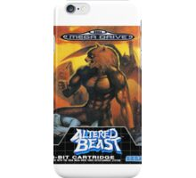 Altered Beast - Retro Mega Drive T-shirt iPhone Case/Skin