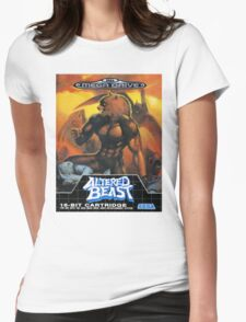 Altered Beast - Retro Mega Drive T-shirt Womens Fitted T-Shirt