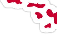 Hawaii islands Sticker