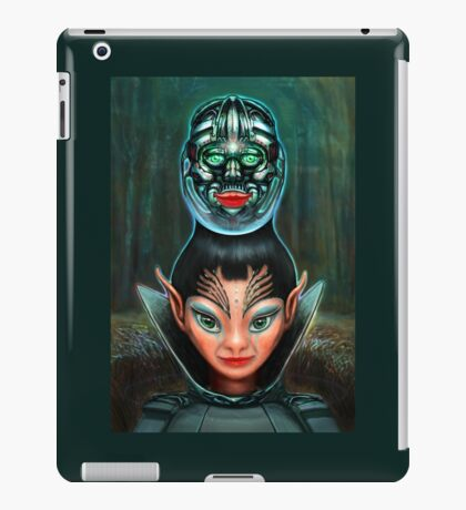 Crop Circles iPad Case/Skin