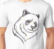 Smug Panda Bear Unisex T-Shirt