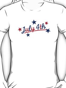 July 4th Independence Day T-Shirt