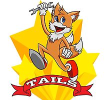 Tails Photographic Print