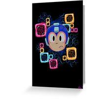 Jumpin' Gemini, Mega Man! Greeting Card