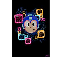 Jumpin' Gemini, Mega Man! Photographic Print