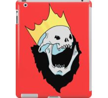 Royalty,  death to the king iPad Case/Skin