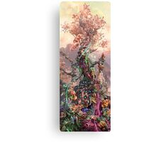 Phosphorus Tree Canvas Print
