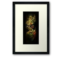Organic Structure 1 Framed Print