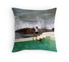 Sydney's Bondi Beach Throw Pillow