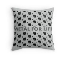 Metal Pattern Throw Pillow
