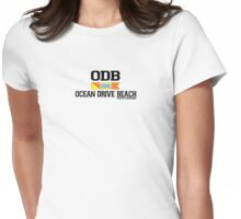 Ocean Drive - South Carolina.  Womens Fitted T-Shirt