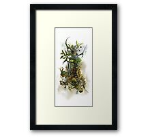 Organic Structure 2 Framed Print