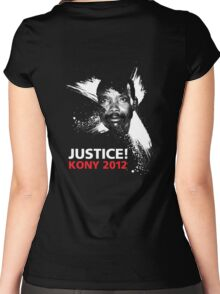 JUSTICE! KONY 2012 Women's Fitted Scoop T-Shirt
