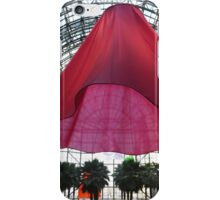 Soft Spin, Sculptural and Sound Installation, Heather Nicol, Artist, Brookfield Place, New York City iPhone Case/Skin