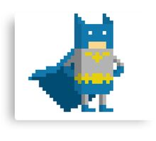 Pixel batman Canvas Print