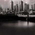 Melbourne City by MickDodds