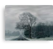 FOGGED TREE Canvas Print