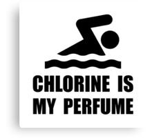 Chlorine Perfume Canvas Print