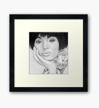 African Queen - Pencil Framed Print