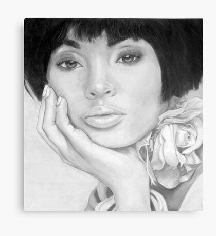 African Queen - Pencil Canvas Print