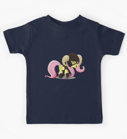 Fluttershy is the D'awwvahkiin (My Little Pony: Friendship is Magic) Kids Tee