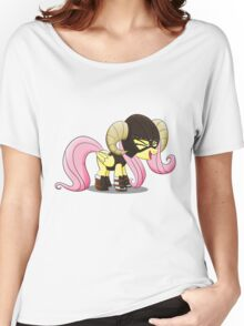 Fluttershy is the D'awwvahkiin (My Little Pony: Friendship is Magic) Women's Relaxed Fit T-Shirt